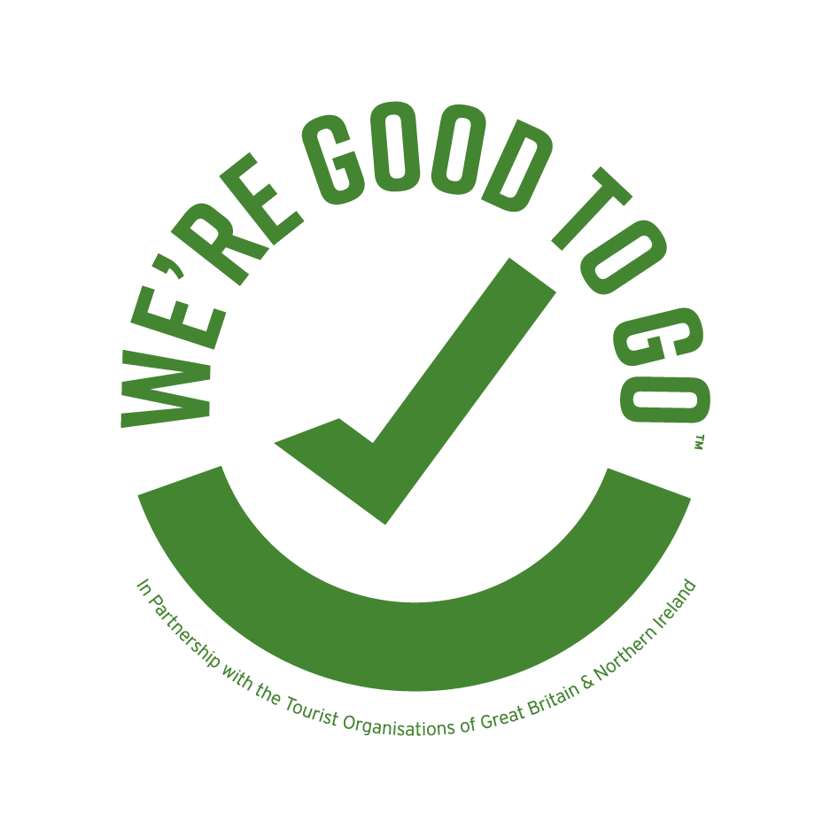 We're Good To Go Badge