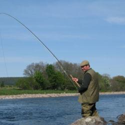 River Dee salmon fishing