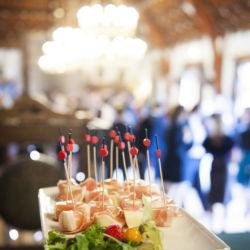 Delicious celebration food