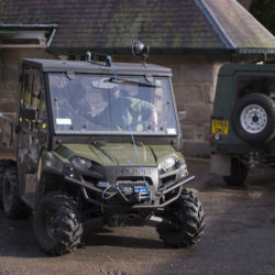Polaris and Land Rover