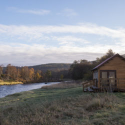 River Dee Fishing Hut
