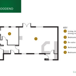Woodend floor plan