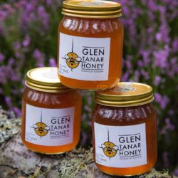 Glen Tanar heather honey