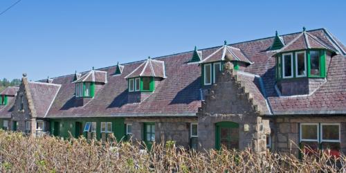 Glen Tanar stableyard