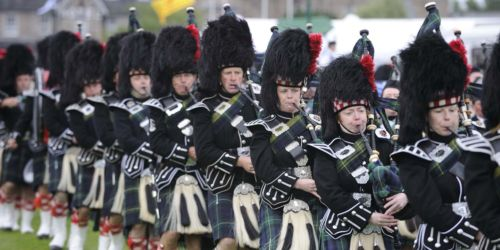 Highland Gathering Pipeband