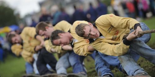 Highland Games Tug O'War