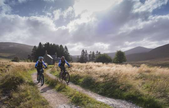 Best Country Side Cycling Destination Scotland Glen Tanar 2