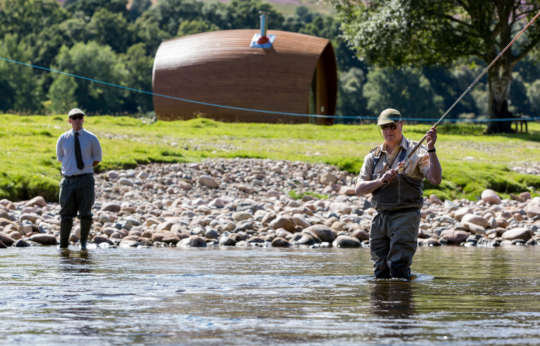 Best flyfishing experience Glen Tanar River Dee
