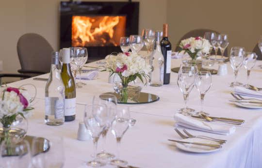 Small party dining venue Glen Tanar