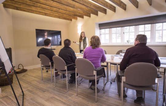 Team meeting Venue in Royal Deeside