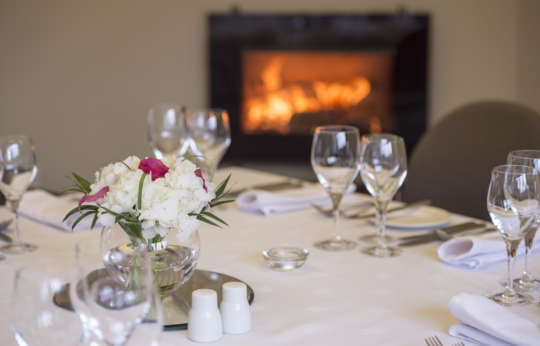 intimate dining experience venue Glen Tanar