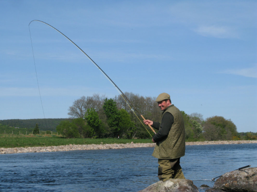 Fishing on one of the world s best spring salmon rivers for River trout fishing
