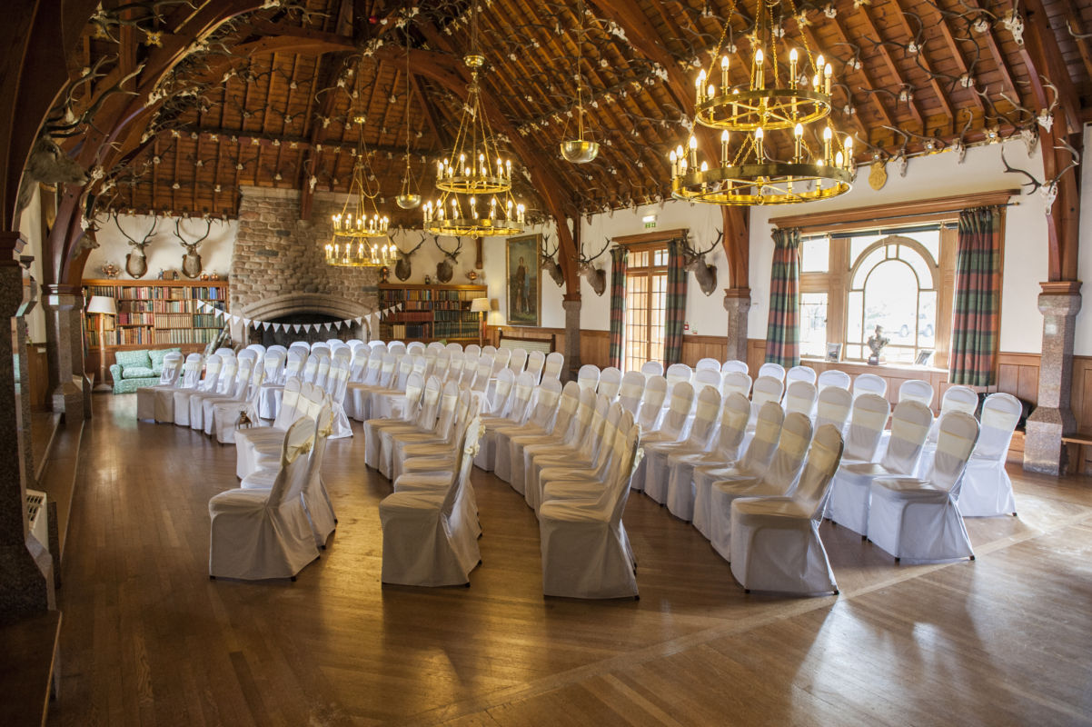 A Fairytale Wedding Venue With A Beautiful Ballroom