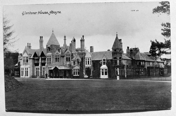 glen tanar house in 1920