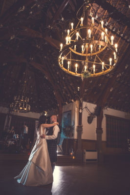 winter wedding glen tanar