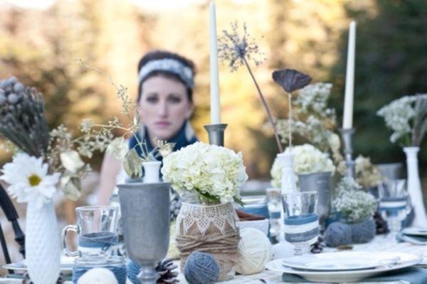 Winter Wedding Table Decor Ideas 5