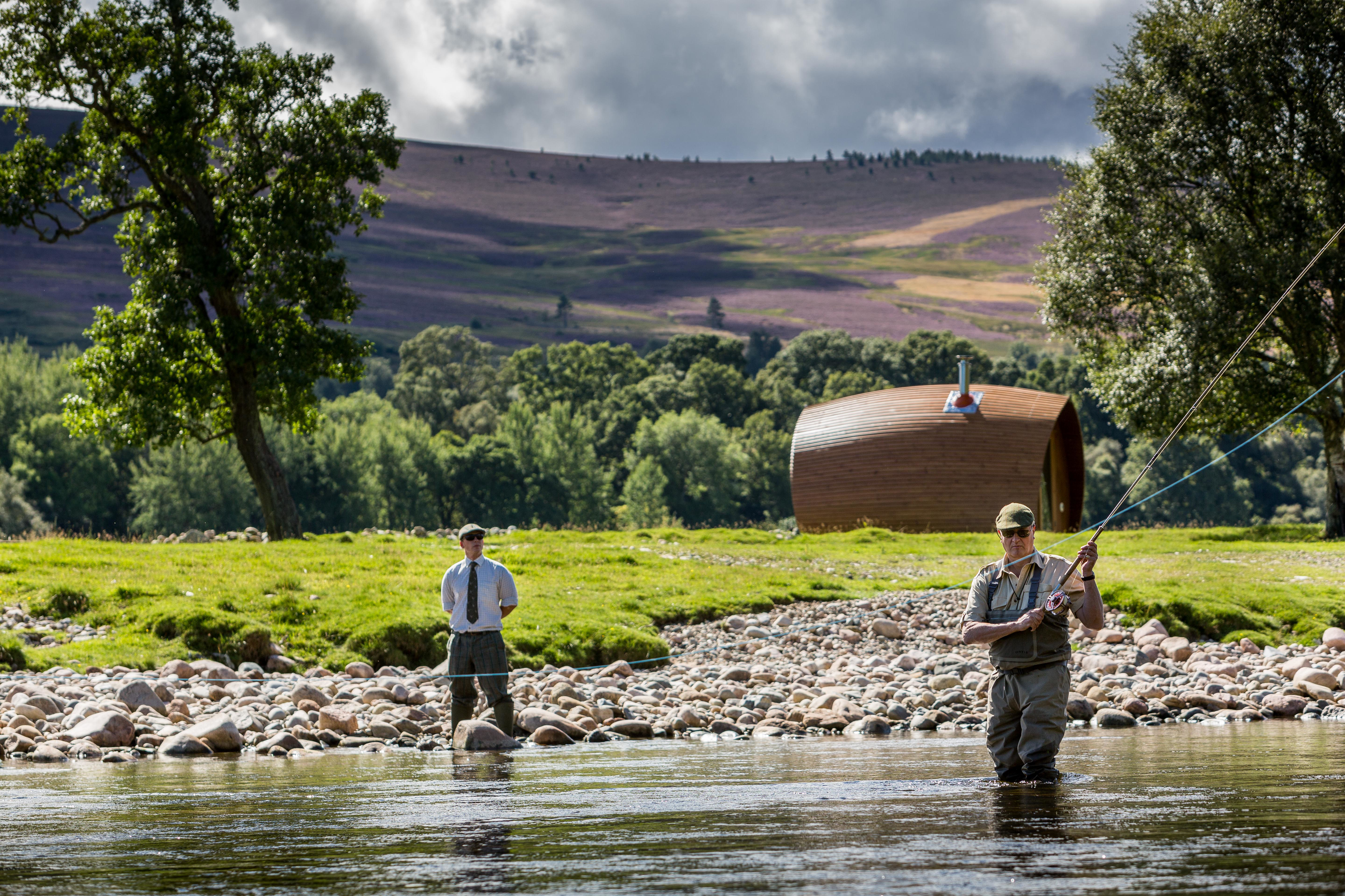 Fishing on one of the world s best spring salmon rivers for Fishing in scotland